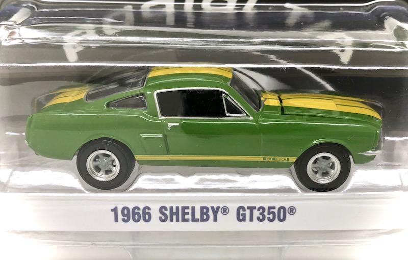 グリーンライト 1/64スケール「1966 シェルビー・GT350」(グリーン)