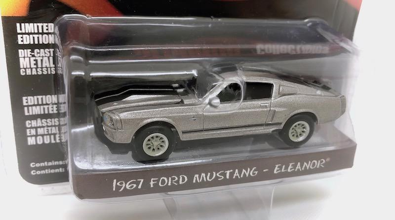 グリーンライト 1/64スケール「1967 フォード・マスタング カスタム