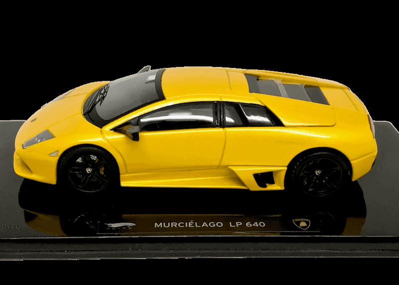 Hot Wheels Elite 1/43スケール「ランボルギーニ・ムルシエラゴLP640」(イエロー)