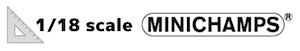 ミニチャンプス(MINICHAMPS)1/18スケールミニカーのロゴ