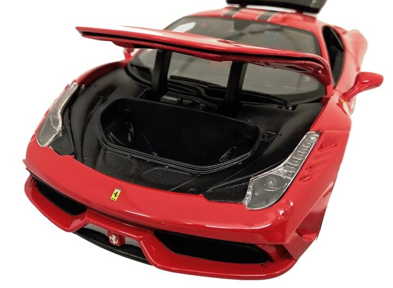 フェラーリ458スペチアーレ 1/18ミニカー