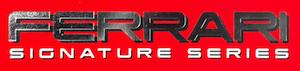 ブラーゴ フェラーリ・シグネチャーシリーズのロゴ