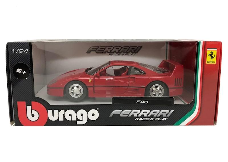 ブラーゴ 1/24スケール「F40」(レッド)Race & Playシリーズ