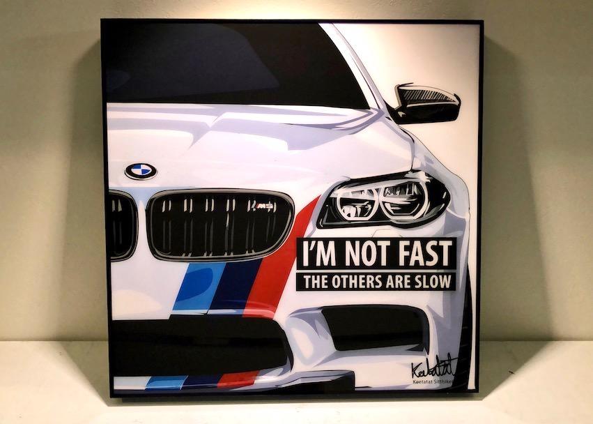 ポップアートパネル BMW M