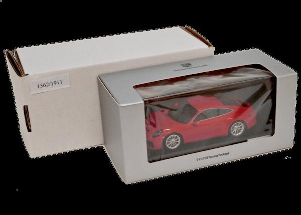 ポルシェ特注 1/43スケール「ポルシェ911 (991 II) GT3ツーリングパッケージ2017」(オレンジ)
