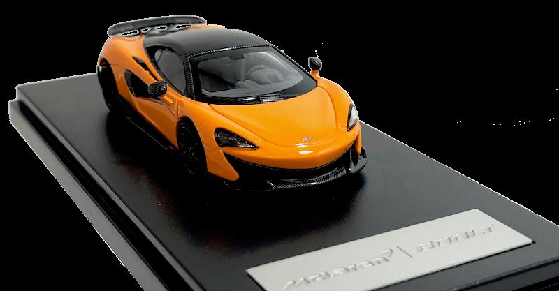 アオシマ/LCD MODELS 1/64スケール「マクラーレン600LT」(マクラーレンオレンジ)ミニカー